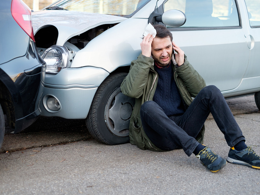 When are you entitled damages in an auto accident?